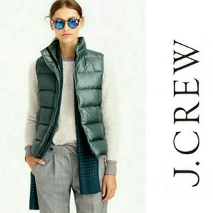 J Crew Down Filled Puffer Vest